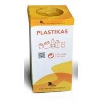 Atliekų rūšiavimo dėžė plastikui