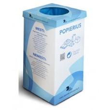 Atliekų rūšiavimo dėžė popieriui